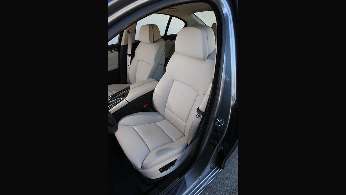 BMW 525d, Fahrersitz