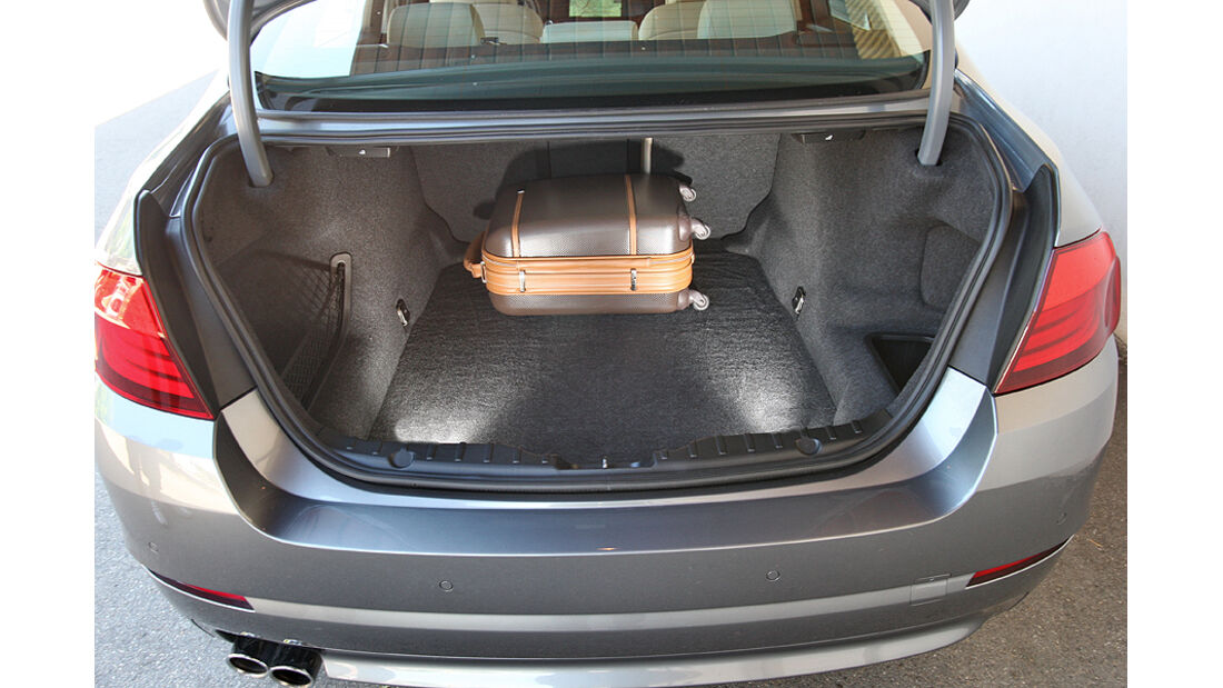 BMW 525d, Kofferraum