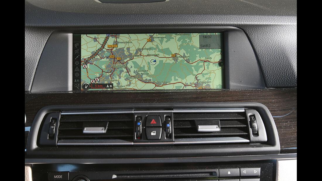 BMW 525d, Navigationsgerät