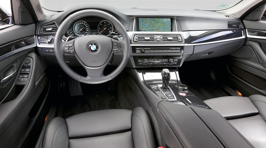 BMW 525d Touring, Cockpit