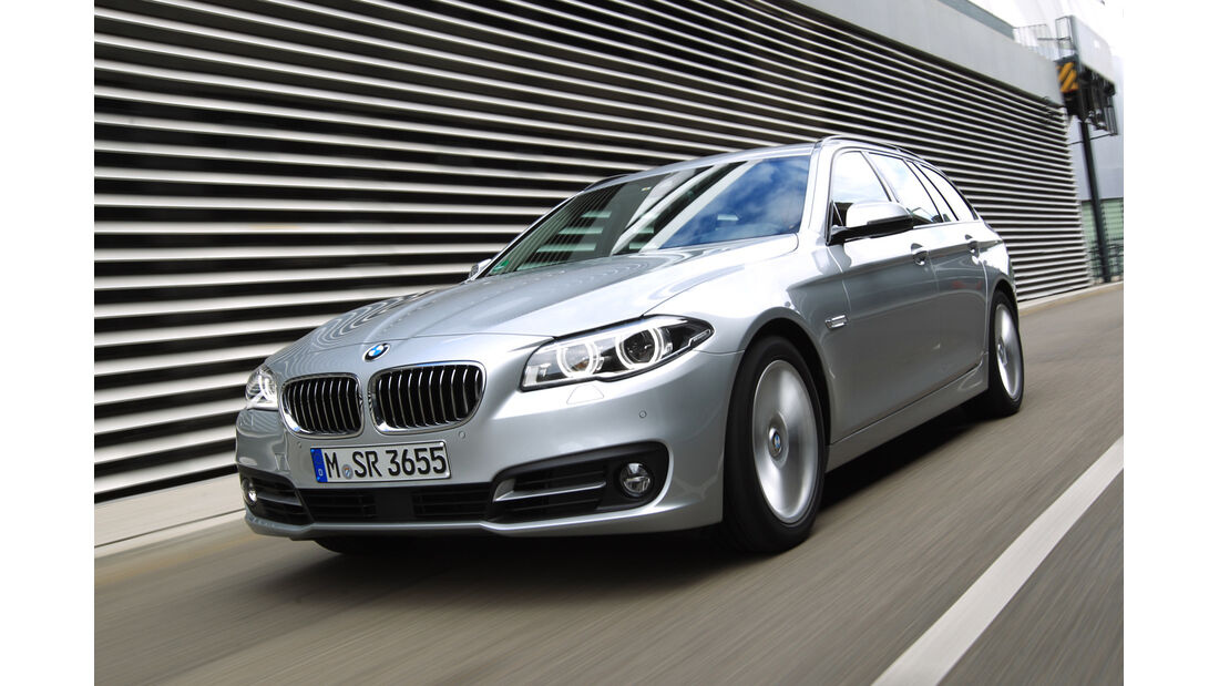 BMW 525d Touring, Frontansicht