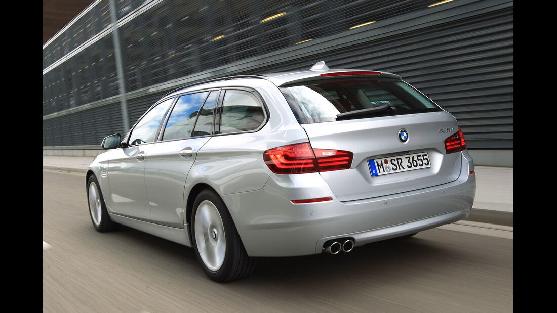 BMW 525d Touring, Heckansicht