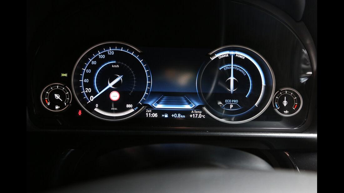 BMW 525d Touring, Rundinstrumente