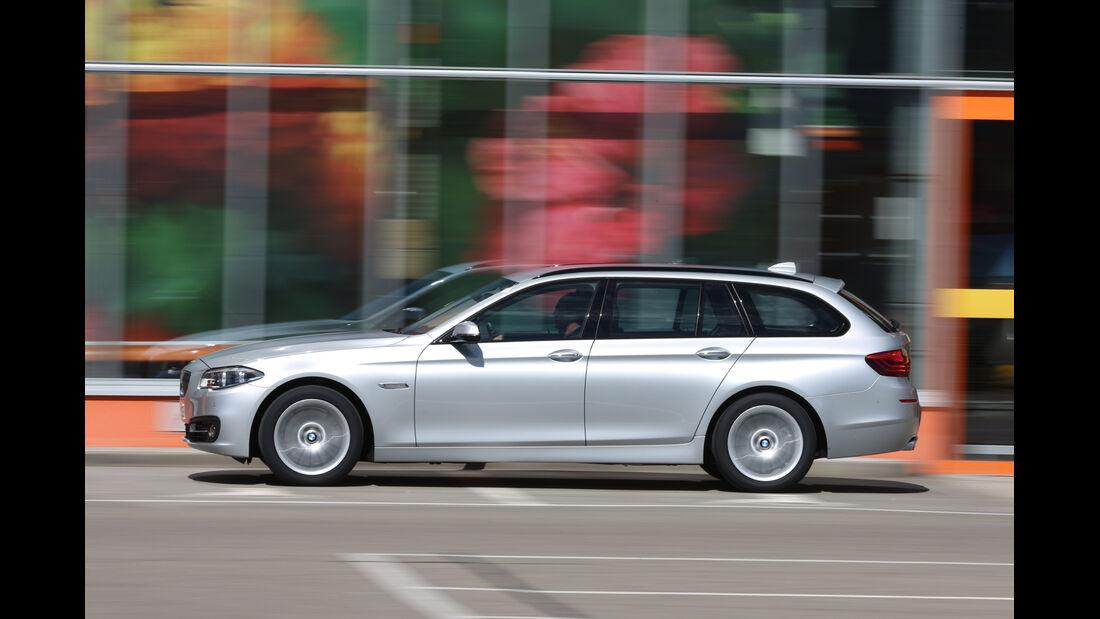 BMW 525d Touring, Seitenansicht