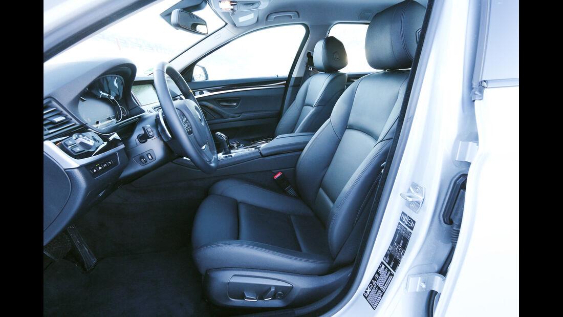 BMW 525d Touring xDrive, Fahrersitz