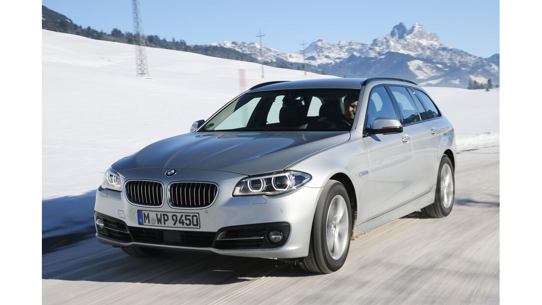 BMW 525d Touring xDrive, Frontansicht