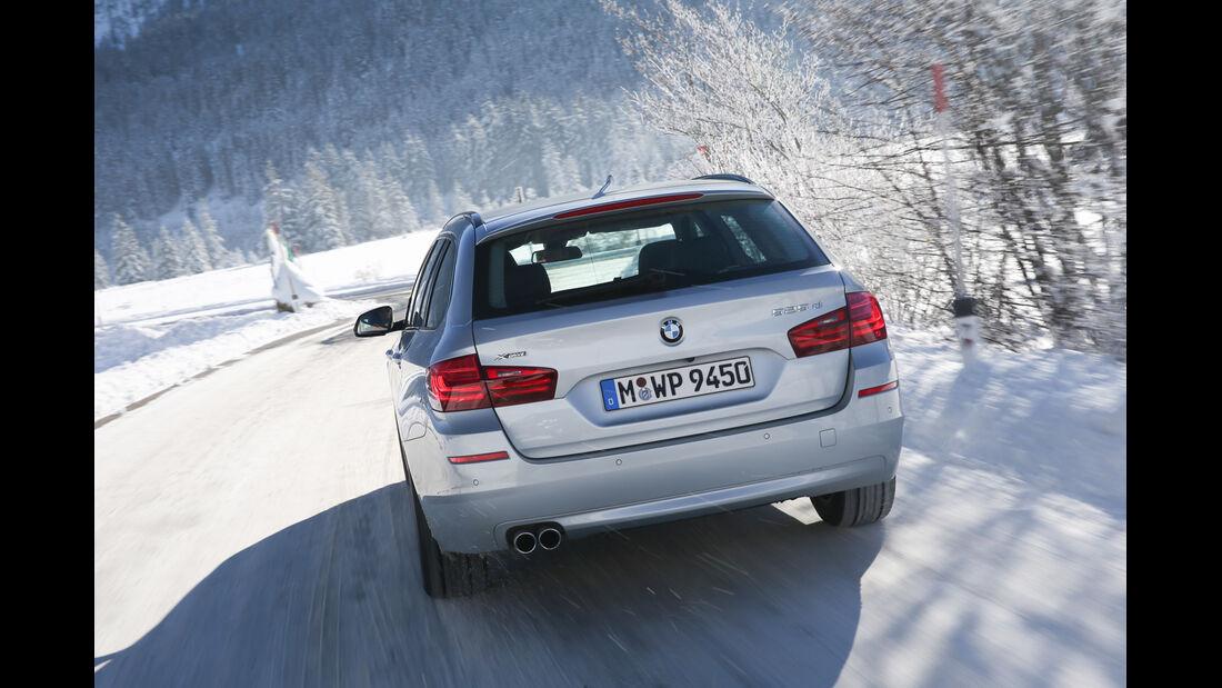 BMW 525d Touring xDrive, Heckansicht