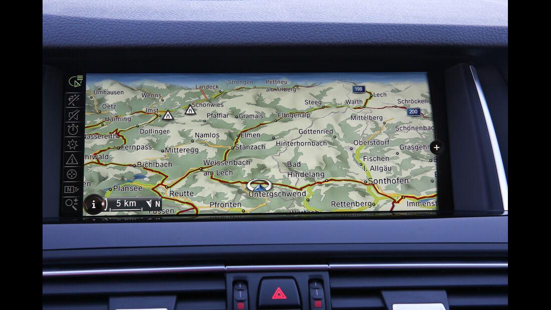 BMW 525d Touring xDrive, Navi
