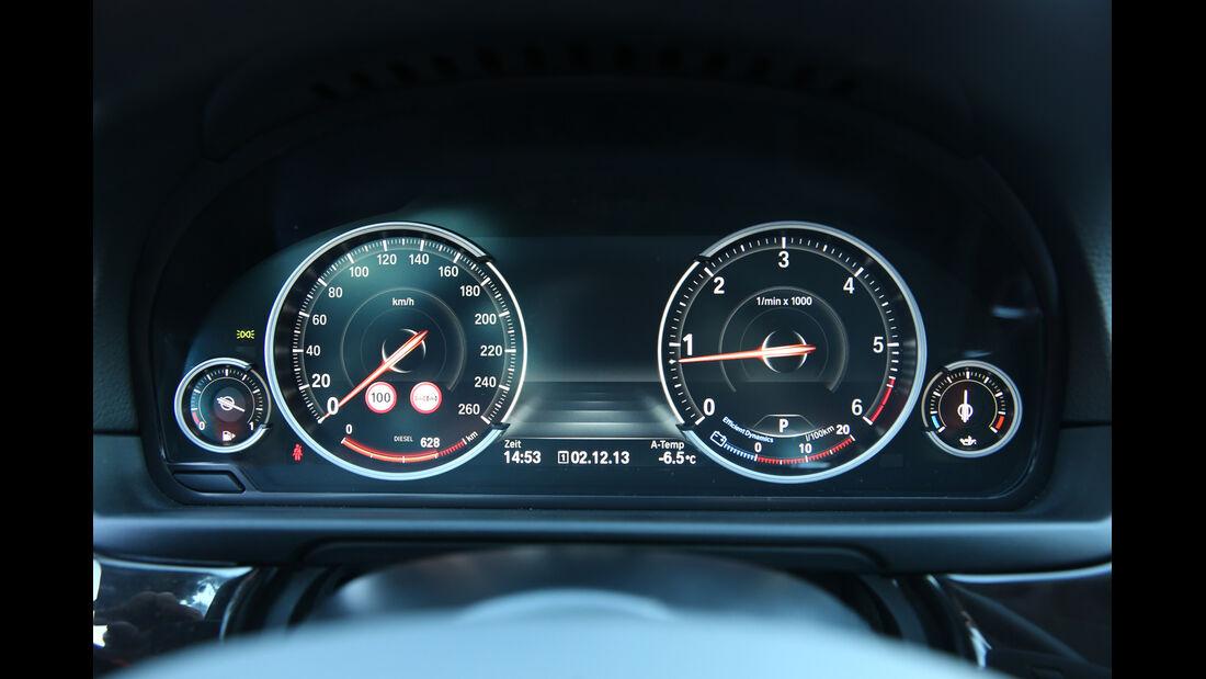 BMW 525d Touring xDrive, Rundinstrumente