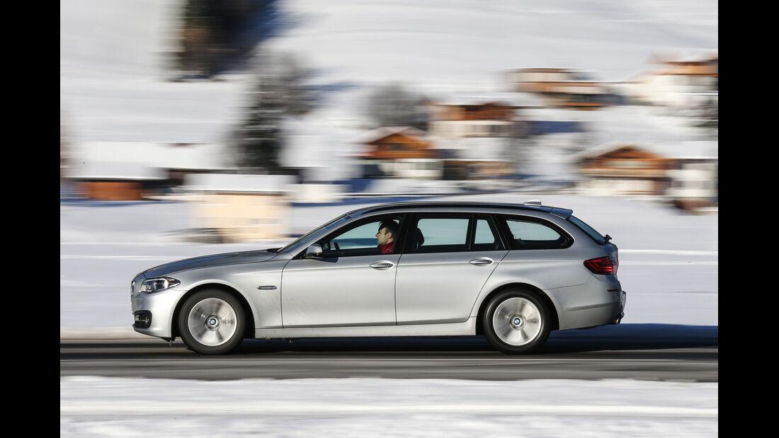 BMW 525d Touring xDrive, Seitenansicht