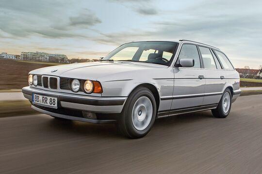 BMW 525i Touring E34 Front
