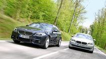 BMW 528i, BMW 530i, Frontansicht