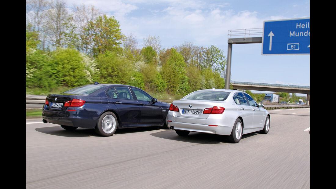 BMW 528i, BMW 530i, Heck