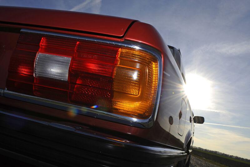 BMW 528i, Rücklichter