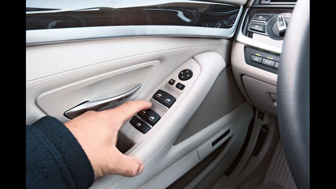 BMW 528i Touring, Bedienelemente