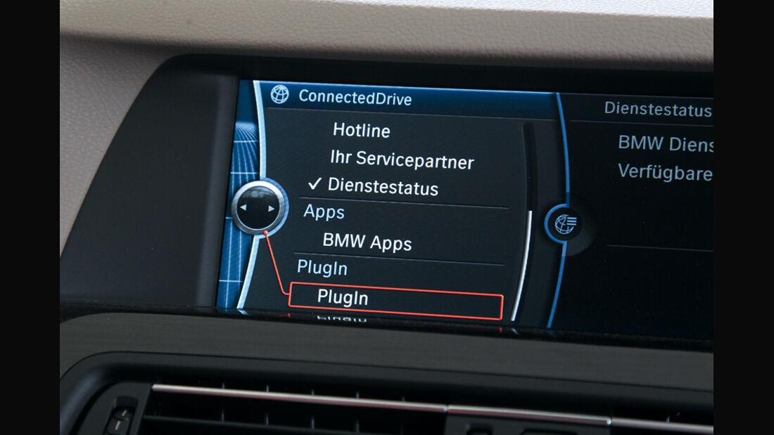 BMW 528i Touring, Bildschirm