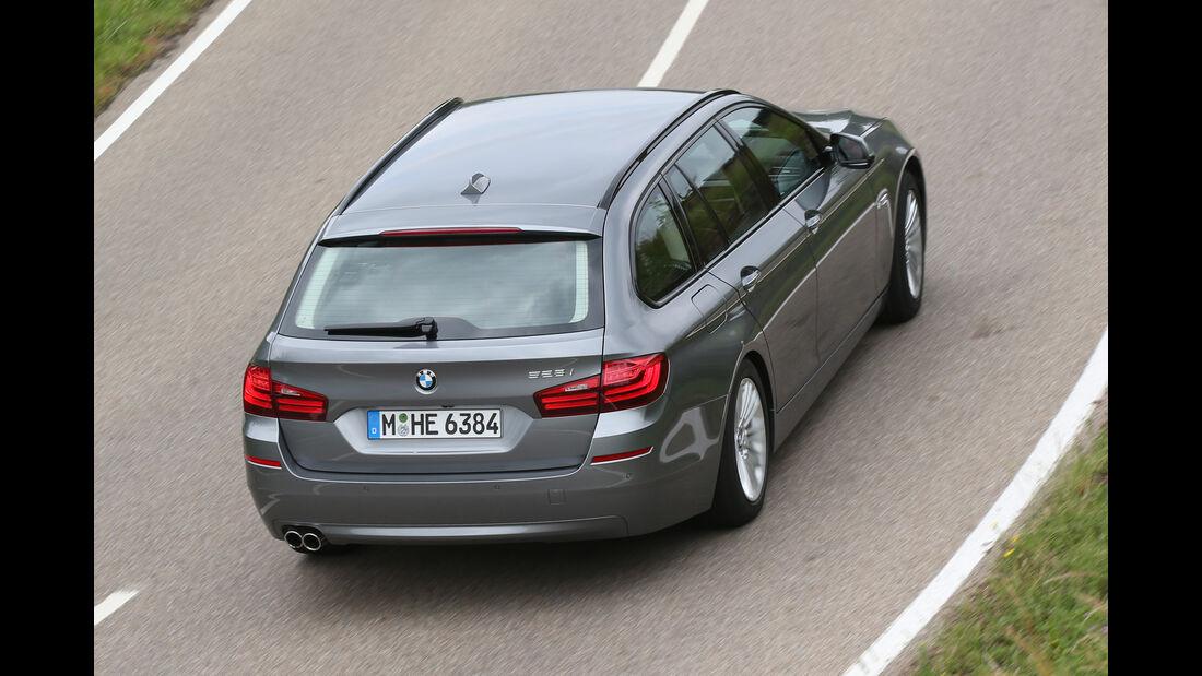 BMW 528i Touring, Draufsicht