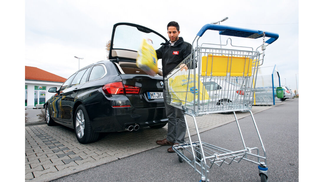 BMW 528i Touring, Einkauf