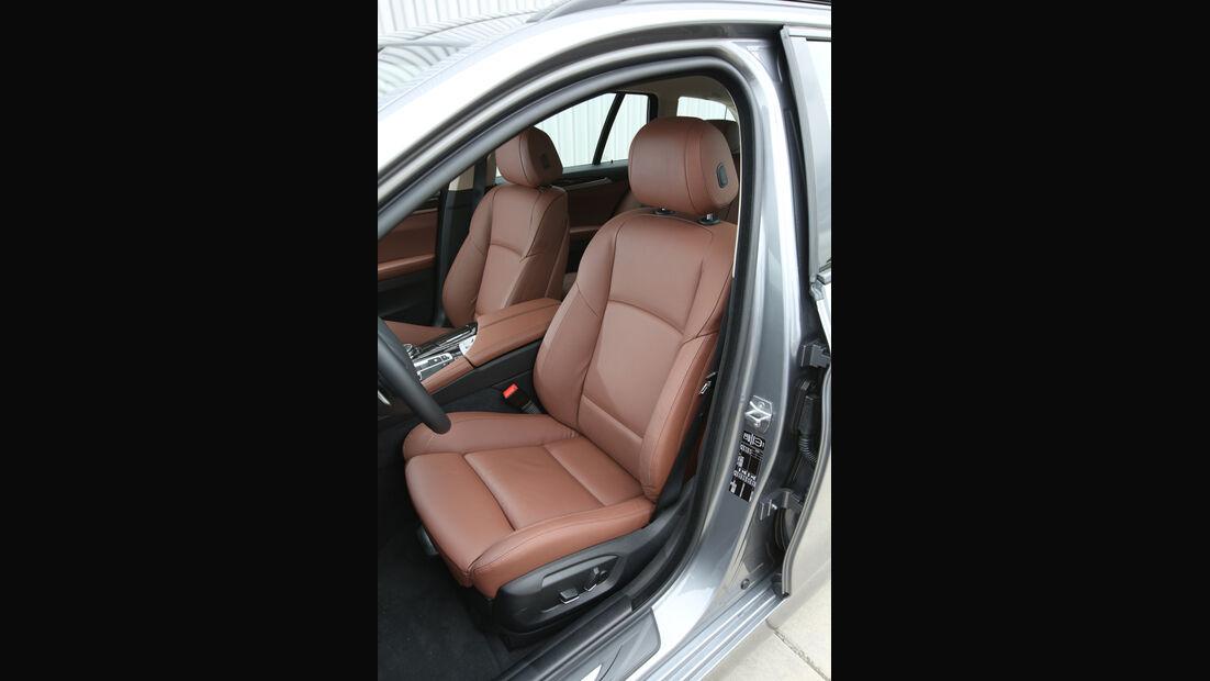 BMW 528i Touring, Fahrersitz