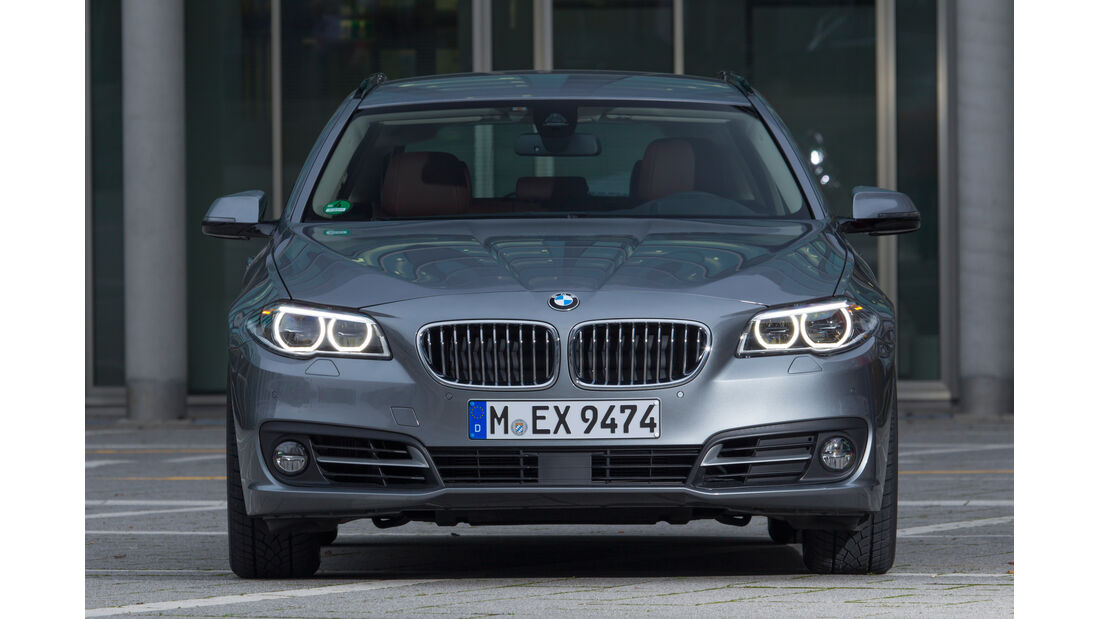 BMW 528i Touring, Frontansicht