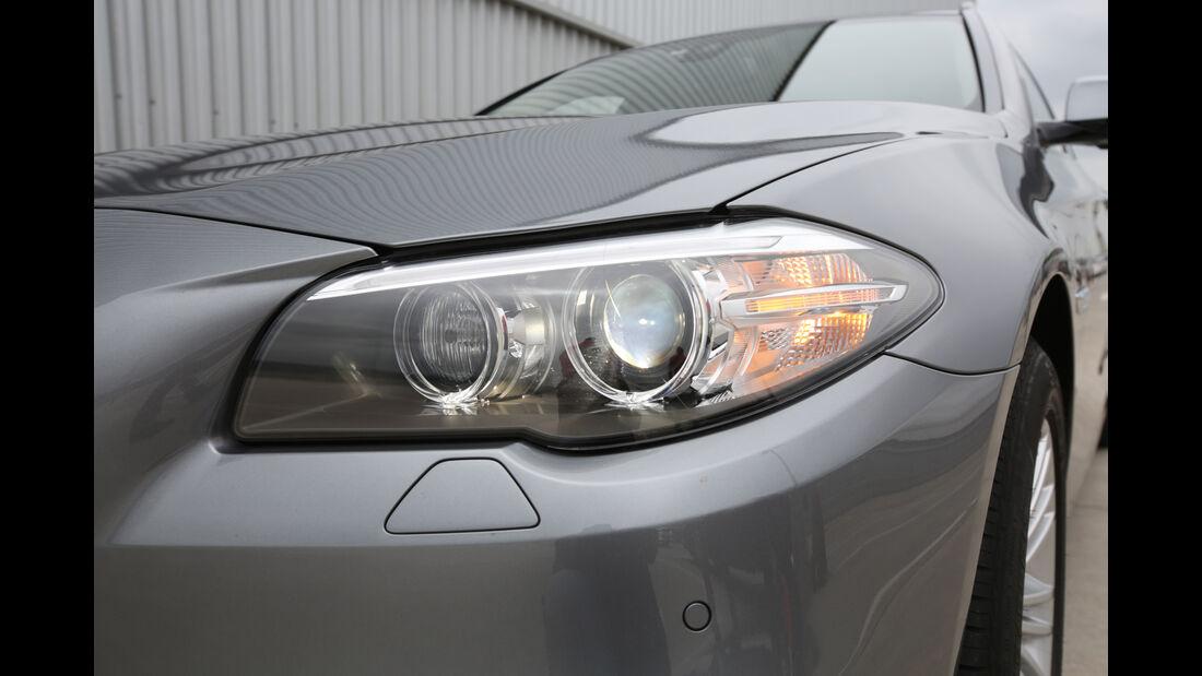 BMW 528i Touring, Frontscheinwerfer