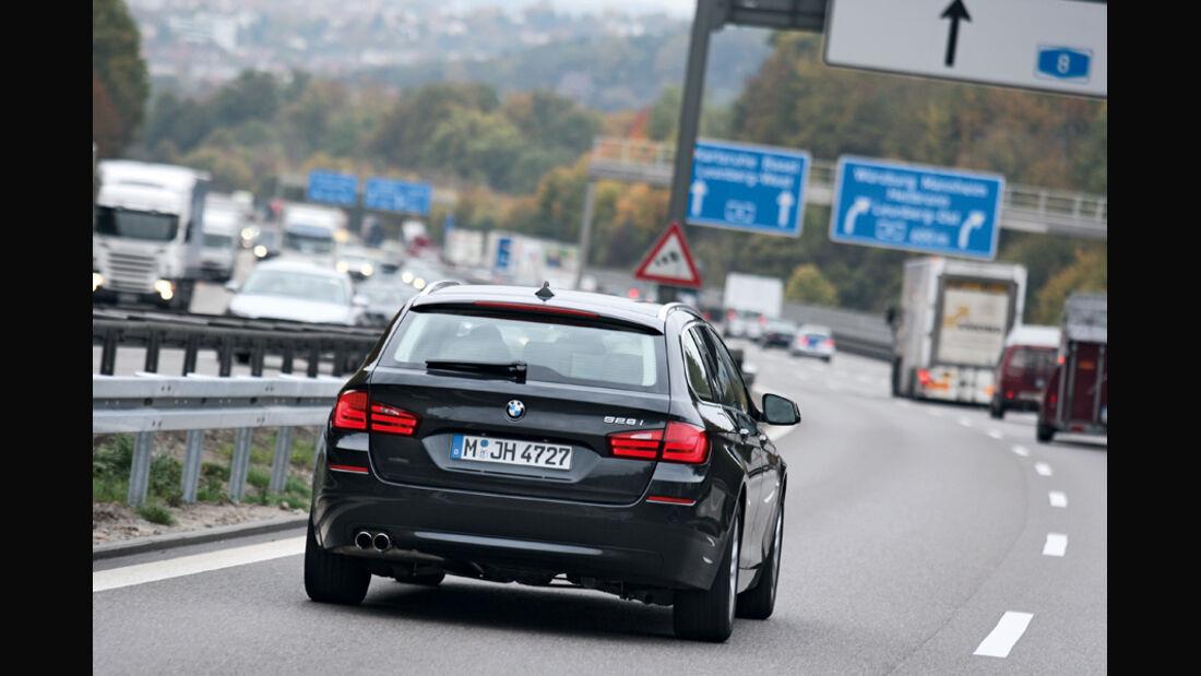 BMW 528i Touring, Heck