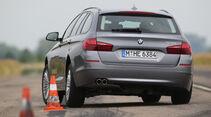 BMW 528i Touring, Heckansicht
