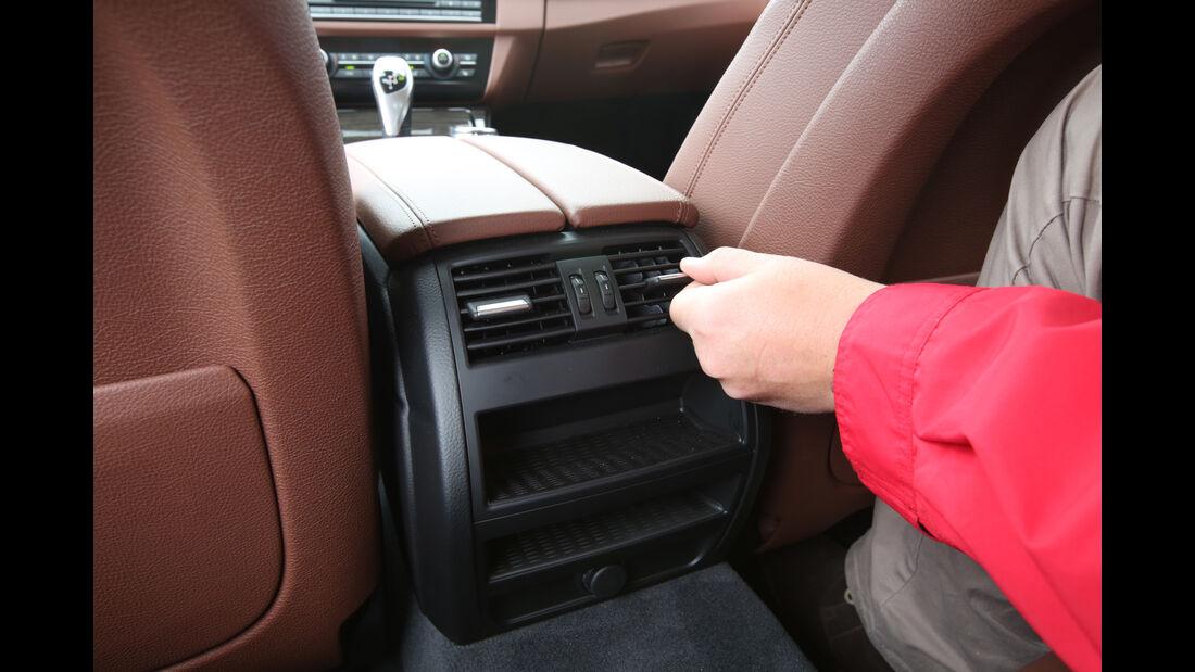 BMW 528i Touring, Luftausströmer