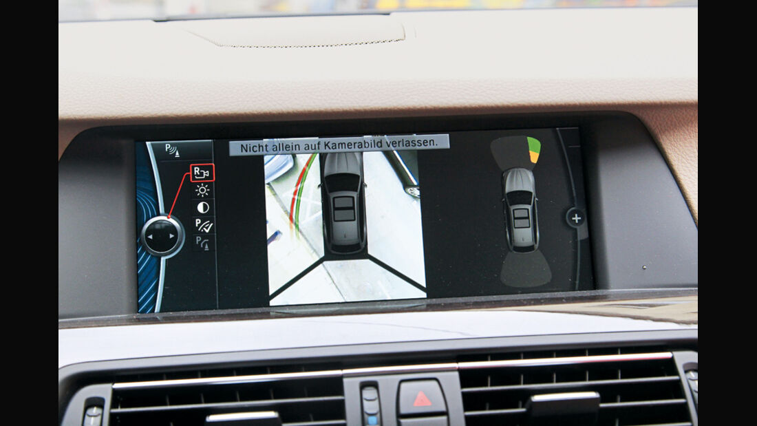 BMW 528i Touring, Rückfahrcamera