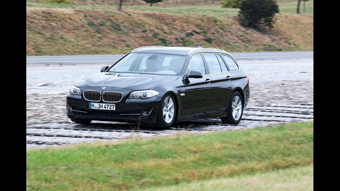 BMW 528i Touring, Rüttelpiste