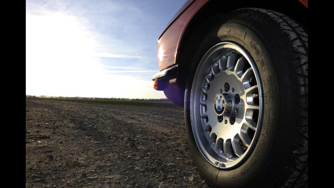 BMW 528i, Vorderrad