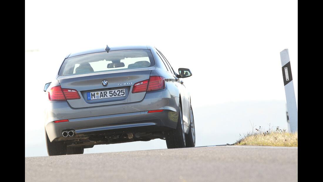 BMW 530, Heckansicht