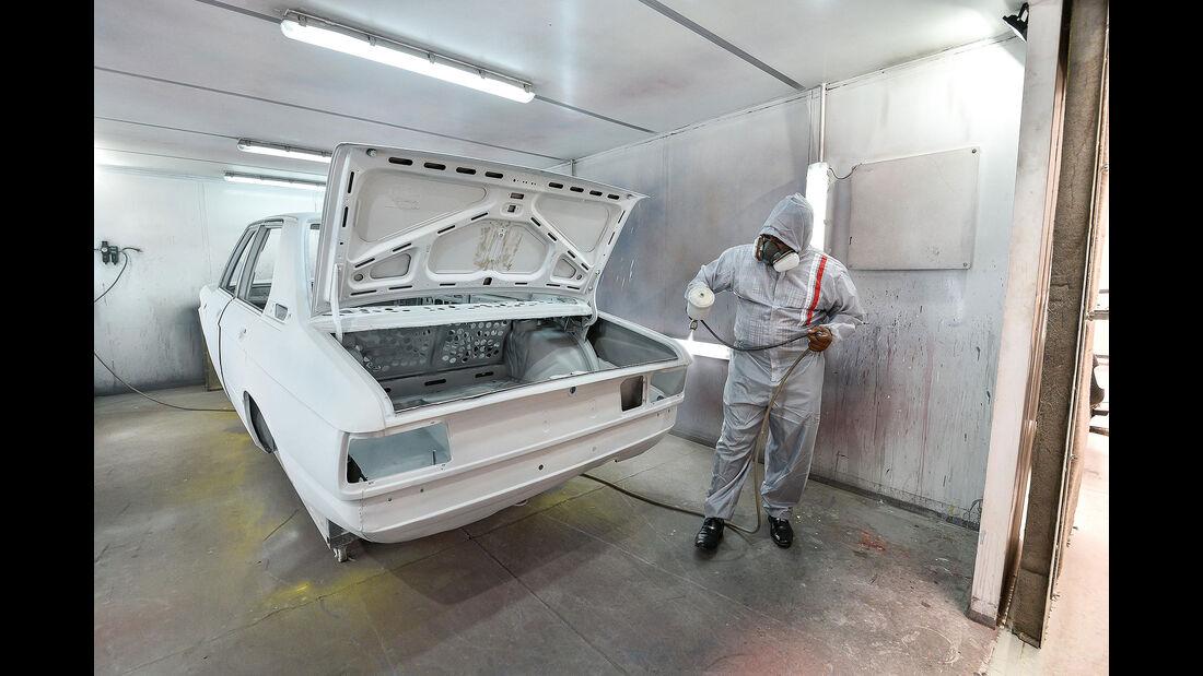 BMW 530 MLE (E 12) South Africa Restaurierung