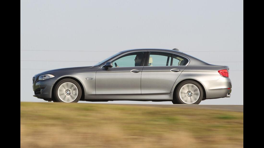 BMW 530, Seitenansicht