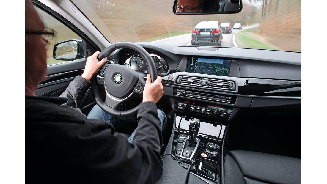 BMW 530d, 535d, M550d, Alpina D5, ams1012, Überlandfahrt