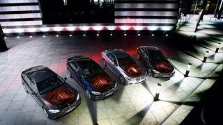 BMW 530d, 535d, M550d, Alpina D5, von oben