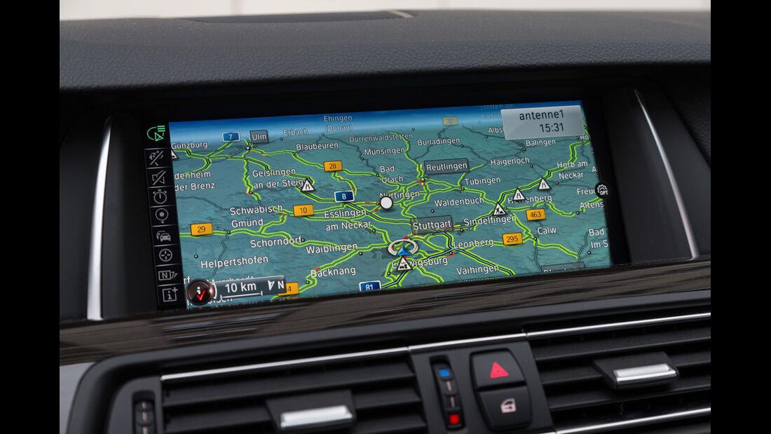 BMW 530d, Bildschirm, Navi