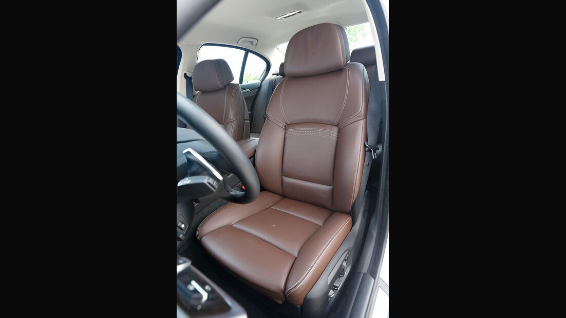 BMW 530d, Fahrersitz