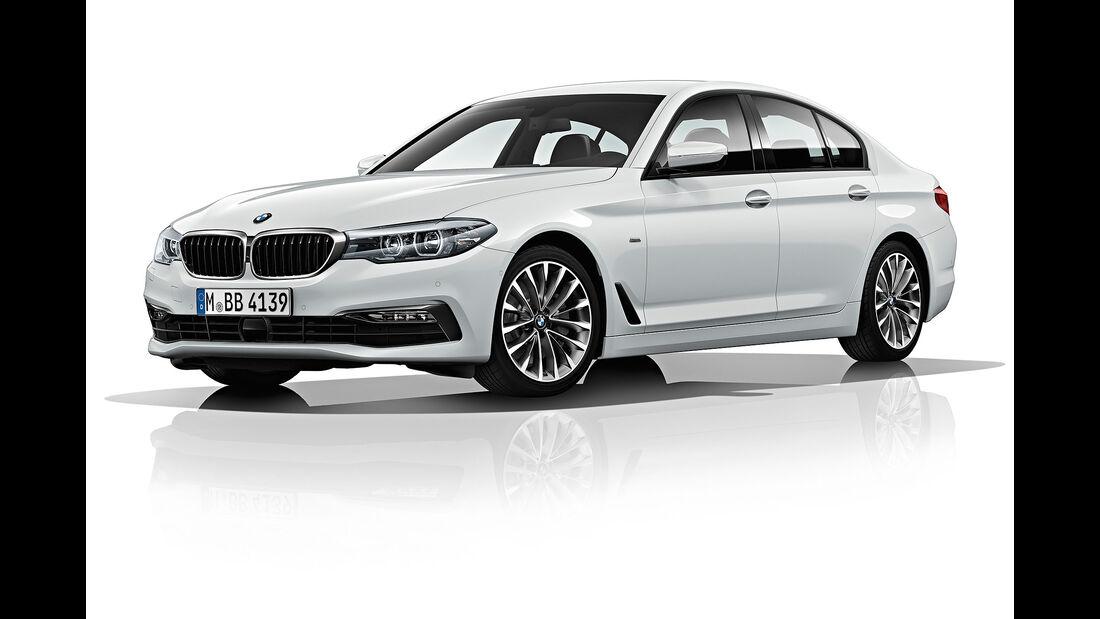 BMW 530d (G30) Efficient Dynamics Edition (2017)