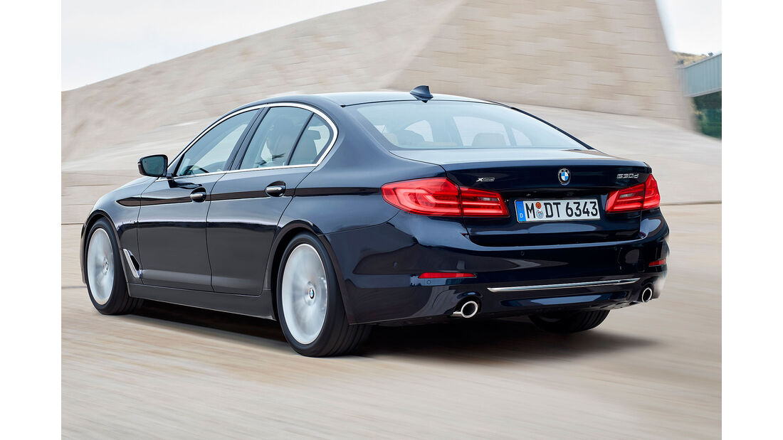 BMW 530d G30 Luxury Line Limousine