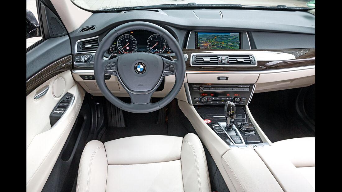 BMW 530d GT, Cockpit