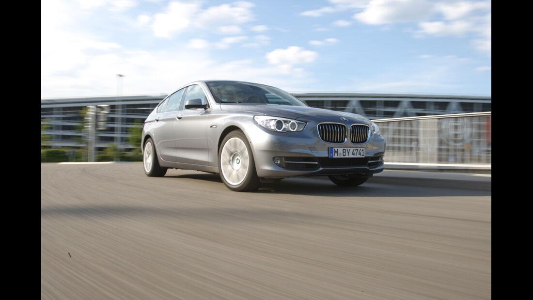 BMW 530d GT, Frontansicht