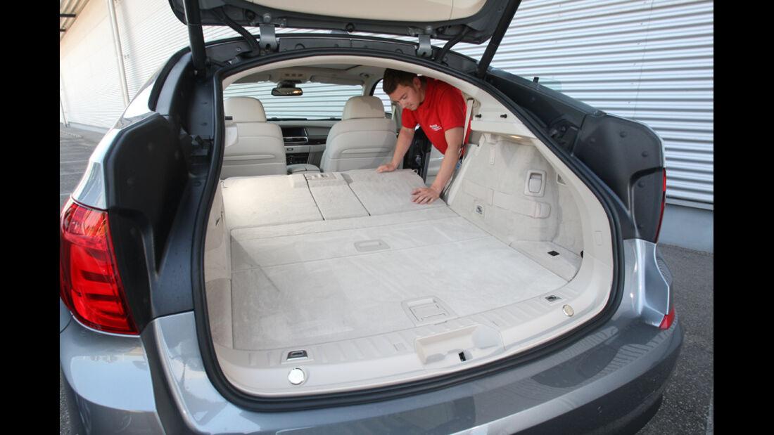 BMW 530d GT, Kofferraum