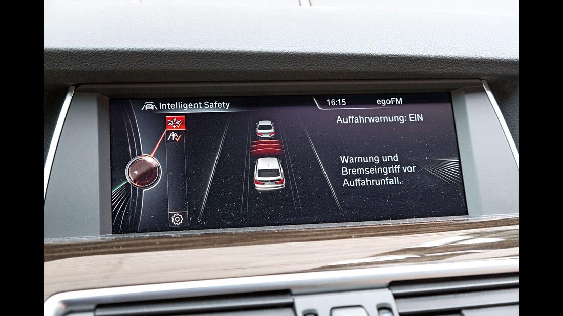 BMW 530d GT, Monitor, Infotainment