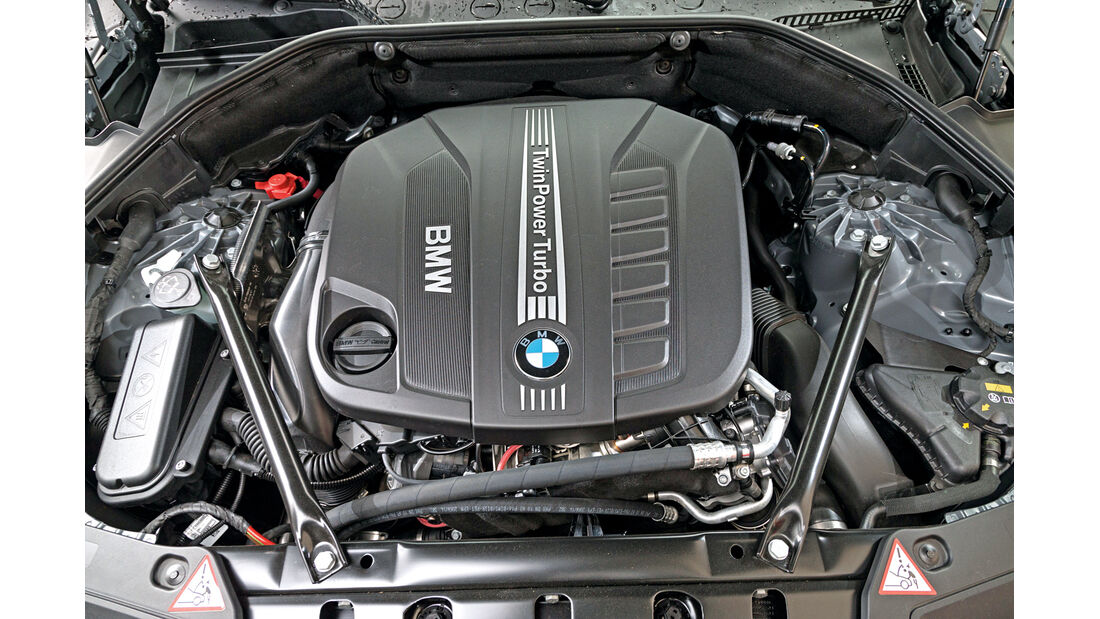 BMW 530d GT, Motor