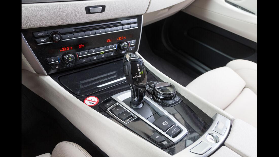 BMW 530d GT, Schalthebel