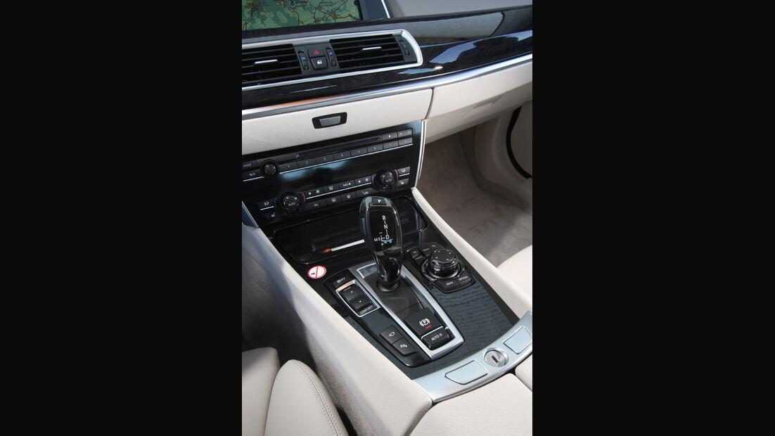 BMW 530d GT, Schaltknauf, Schalthebel