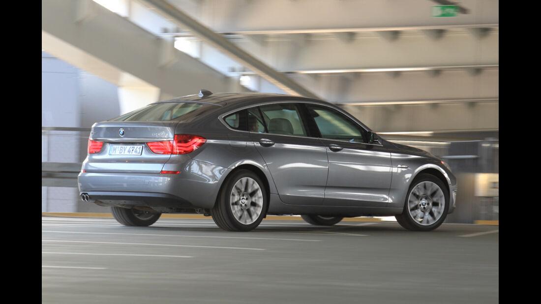 BMW 530d GT, Seitenansicht