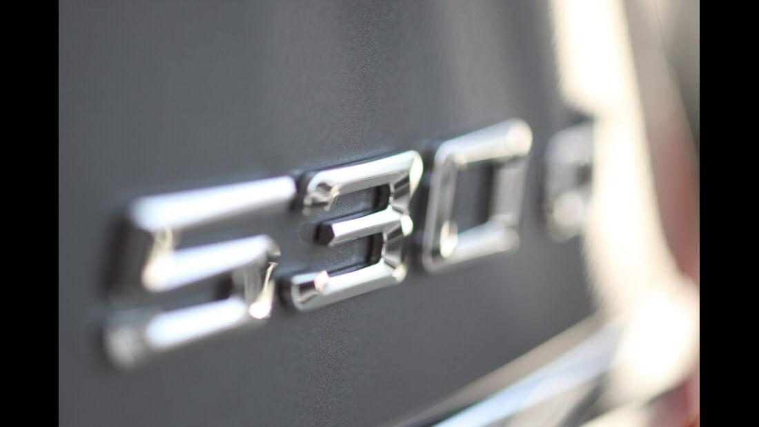 BMW 530d GT, Typenbezeichnung