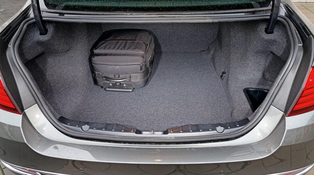BMW 530d, Kofferraum